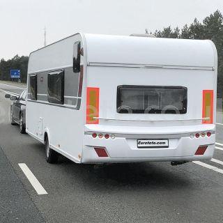 Panel reflectante para señalización vehiculo largo + 12 metros caravana camion remolque 1
