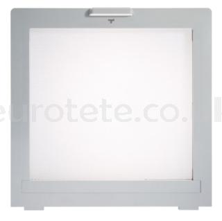 Skylight 400 x 400 mpk mosquito net with gray frame motorhome 1