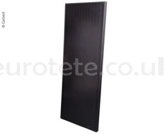 Solar panel 120 watts 145 x 55 Full Black high performance monocrystalline for motorhome