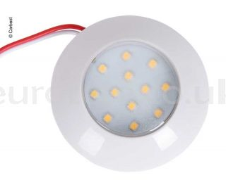 Plafon led 7,5 cm redondo 12 leds a 12 y 24 voltios  autocaravana 1