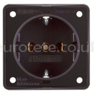 Brown Berker electricity plug