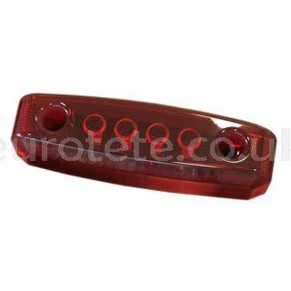 Led mini rojo 65 mm luz posicion a 12 voltios  autocaravana 1
