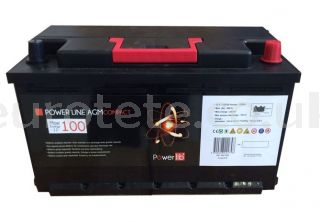 Batteries AGM Inovtech 100 to compact