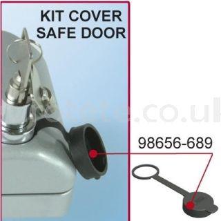 Fiamma 98656-689 safe door plastico negro safe door recambio puerta autocaravana caravana 1