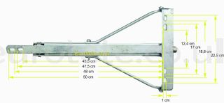 Winterhoff patas estabilizadoras Corner Steady ADS 460 2