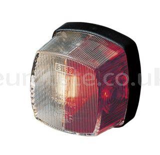 Piloto galibo Hella cuadrado posicion rojo y blanco recambio accesorios autocaravana eurotete.com 1
