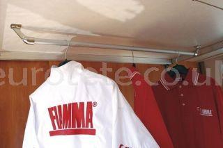 Colgador ropa para garaje autocaravana Fiamma barra vestidor Carry Rail  1