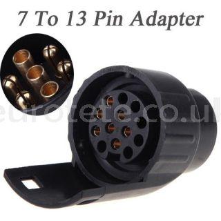 Adaptador de 7 a 13 pins remolque caravana 1