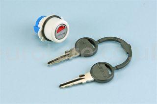 Thetford 2660758 serie 3/4/5 Zadi 26604 con 2 llaves + carcasa cerradura de puerta cassette autocaravana 1