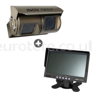Rear camera Kit Inovtech double motorhome