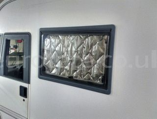 Thermal insulation window 120 X 35 cm for motorhome