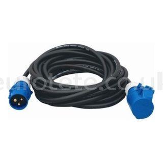 Alargo cable electrico de 10 metros con toma tierra CEE para caravaning 1