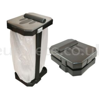 Foldable camping bin for camping