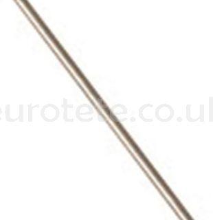 Chromed axle for stabilizer leg 30 cm