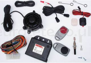 GEMINI 862 alarm with 12 volt controls for the safety of the motorhome or camper