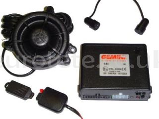 GEMINI 932R alarm can-bus to 12 volts for the safety of the motorhome or camper