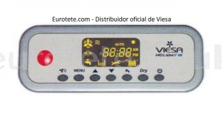 Viesa Holiday III control command module with power module for motorhome cooler
