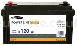 AGM 120 amp battery for motorhome