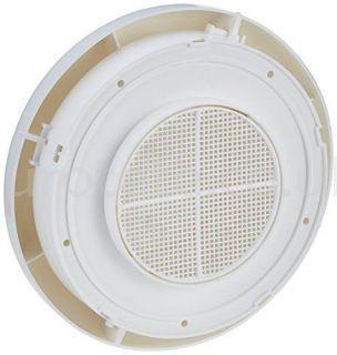 Champignon tubo 10 cm con mosquitera para aireador techo caravana 1