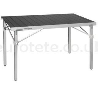 Brunner table Titanium Quadra 4 NG aluminum for motorhome or caravan
