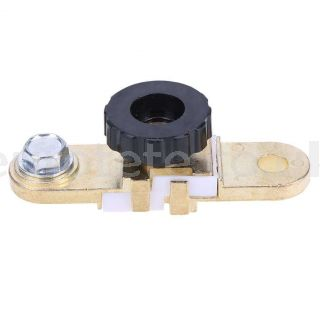 Battery terminal flat switch for connection to the negative terminal of the battery for motorhome or truck