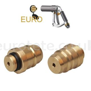 Euroconnector LPG adapter Europe external gas gas outlet for rechargeable bottle