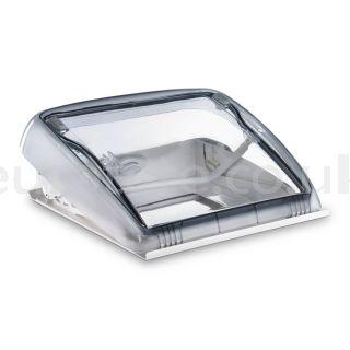 Claraboya 400 x 400 kit Dometic Mini Heki Style con marco interior + oscurecedor plisado + mosquitera autocaravana 1