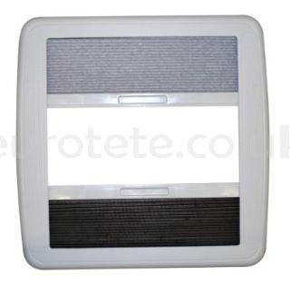 Marco claraboya Dometic Mini Heki o Style gris recambio marco interior con oscurecedor y mosquitera claraboya de autocaravana 1