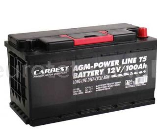 Battery 100 agm 35 x 17 x 19 compact and VW T5