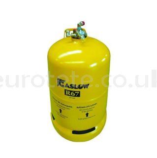 Gas bottle nº 2 LPG rechargeable Gaslow R67 second bottle of LPG for motorhome