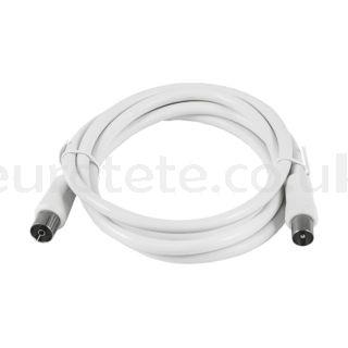 Cable antena TV conexion macho y hembra 1