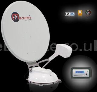 Satellite antenna Mecatronic ASR 850 Flat Skew Plus automatic for motorhome