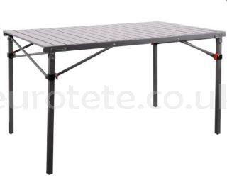 Mesa 120 x 70 cm plegable aluminio para 4 personas autocaravana 1