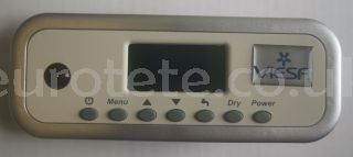 Viesa Holiday II module control panel control motorhome cooler control