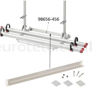 Fiamma 98656-456 rail fixed bottom long carry bike CB Pro / CL / UL motorhome camper 1