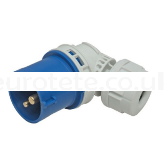 CEE 17 articulated adapter male plug IP44 16 amps 1