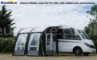 Advance inflatable tent Air Pro 260 L high quality for motorhome 1