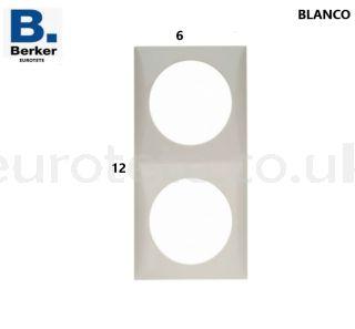Berker-white-double-frame-switch-electricity-push-button-inprojal-gala-motorhome