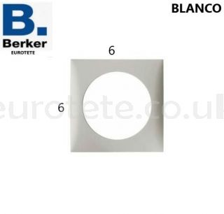 Berker-frame-individual-white-plug-push-button-electricity-switch