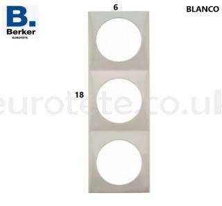 Berker-white-triple-frame-switch-electricity-push-button-inprojal-gala-motorhome