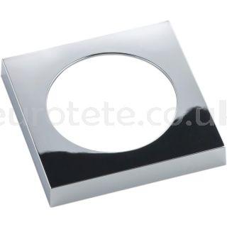 Berker gloss chrome flat frame electricity 1
