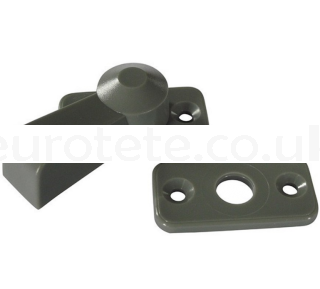 Gray latch for door or cabinet lock 1