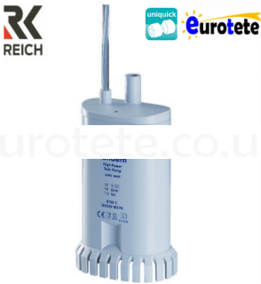 Pump 19 liters minute 1.5 bar water Reich Tandem at 12 volts 1