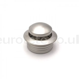 Mini silver push button with push lock ring for camperization furniture camper 1