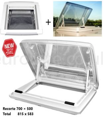 Claraboya-700 x 500-marco-oscurecedor-plisado-MPK-VisionStar-L -pro-recambio-autocaravana-caravana-1