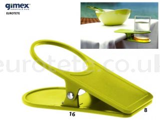 Clip-clamp-table-green-pistachio-can-soft drink-Gimex-kitchenware-camping-caravan-motorhome-1