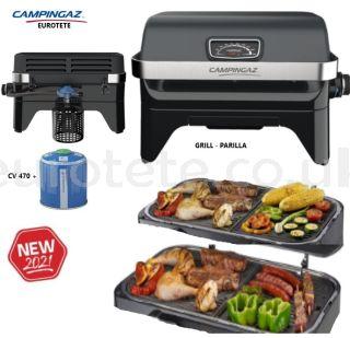Campingaz-kitchen-grill-cartridge-CV-470-camping-caravaning-picnic-holidays-barbecue-hob-motorhome-citi-chef-1