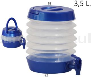 Foldable-water-dispenser-with-tap-camperization-camper-kitchen-camping