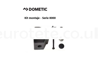 Dometic serie 8000 smev Kit 4 fixing system kitchen 1