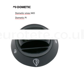Dometic smev MO and Dometic PI kitchen control  motorhome 1